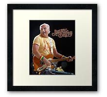 JIMMY BUFFETT TOUR DATES Framed Print