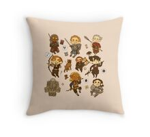 Dragon Age: Origins Throw Pillow