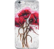Lisa's Poppies iPhone Case/Skin