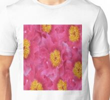 Peony flower oil painting Unisex T-Shirt
