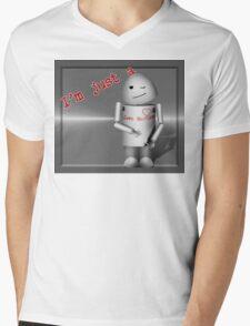 I'm Just a Love Machine! - Happy Valentine's Day! Mens V-Neck T-Shirt
