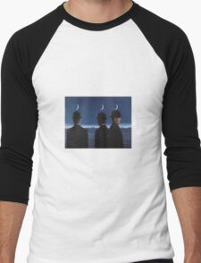 The Mysteries of the Horizon by Magritte  Men's Baseball ¾ T-Shirt