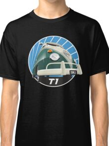 VW Type 2 Transporter T1 green Classic T-Shirt