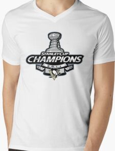 Stanley Cup Champions   Pittsburgh Penguins   2016 Mens V-Neck T-Shirt