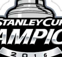 Stanley Cup Champions | Pittsburgh Penguins | 2016 Sticker