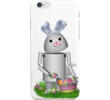 Cute Easter Robot -  Robo-x9  iPhone Case/Skin
