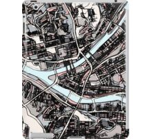 Abstract Map of Pittsburgh PA iPad Case/Skin
