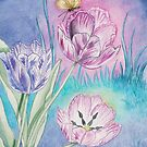 Vespertine Tulips by AngelArtiste