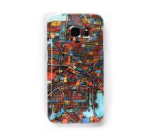 Abstract Map of San Antonio TX Samsung Galaxy Case/Skin