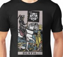 Tarot - Death. (BLACK TEE ONLY) Unisex T-Shirt