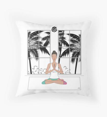 yoga Throw Pillow