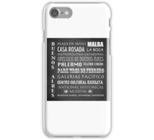 Buenos Aires Famous Landmarks iPhone Case/Skin