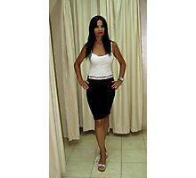 Lily - Black & White Fashion Photographic Print