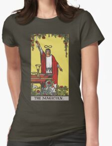 Tarot - The Magician (Black tees only) Womens Fitted T-Shirt