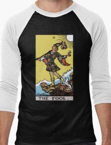 Tarot - The Fool (black tee only) Men's Baseball ¾ T-Shirt