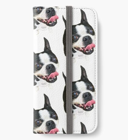 Boston Terrier iPhone Wallet/Case/Skin