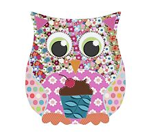 appliqué patch owl by Sharon Turner