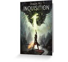 Dragon Age The Inquisition Greeting Card