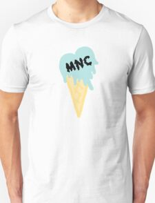 MNC - Ice cream heart (blue) T-Shirt