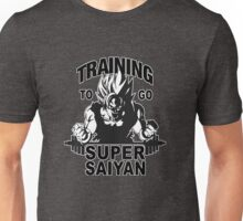 TRAINING GOKU SUPER SAIYAN - Baset of Dragon Ball Unisex T-Shirt