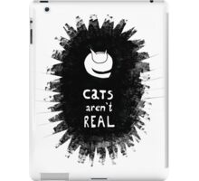 Cats Aren't Real iPad Case/Skin