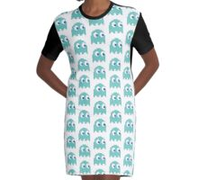 Ms. Pacman's lover Graphic T-Shirt Dress