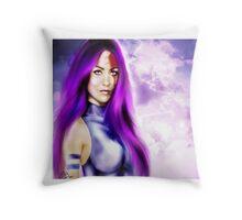 Lady Katana Throw Pillow