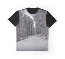 Following Tracks Graphic T-Shirt