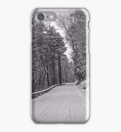 Following Tracks iPhone Case/Skin