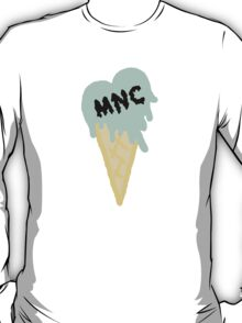 MNC - Ice cream heart (mint) T-Shirt