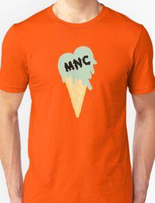 MNC - Ice cream heart (mint) T-Shirt