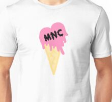 MNC - Ice cream heart (pink) Unisex T-Shirt