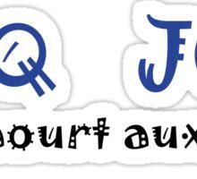 Coq Joli yaourt aux fruit Sticker