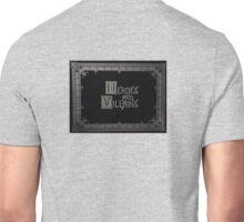 Heroes And Villains - OUAT Medieval Writing Unisex T-Shirt