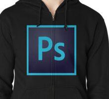 Photoshop Icon Zipped Hoodie