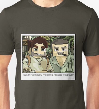 Minecraft Drake and Sully Selfie Unisex T-Shirt