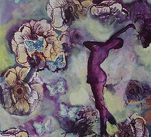 Spring Awakens Slowly by LauraBergrenArt
