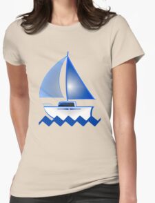 Sailing iPhone / Samsung Galaxy Case Womens Fitted T-Shirt