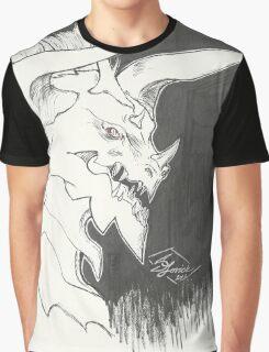 Dragon Bust Davrok Graphic T-Shirt