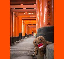 Domo-kun in Fushimi Inari-taisha Unisex T-Shirt
