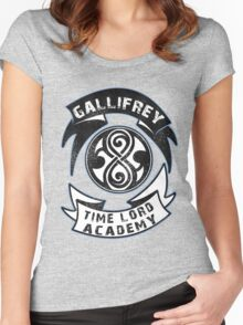 Gallifrey academy Women's Fitted Scoop T-Shirt
