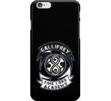 Gallifrey academy iPhone Case/Skin