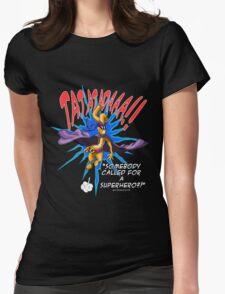 Gililimus : Superhero! Womens Fitted T-Shirt