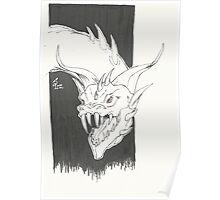Dragon Bust Talok Poster