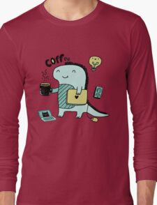 Communication Dinosaurs.  Long Sleeve T-Shirt
