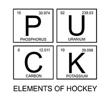 PUCK Elements Of Hockey by raineOn