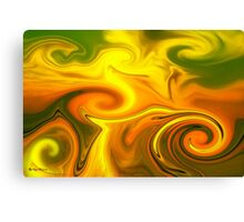 TRUE COLORS- Abstract  Art + Products Design  Canvas Print
