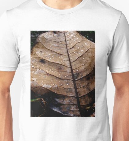 Leaf and Dew. Unisex T-Shirt