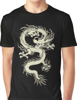 CHINESE DRAGON GOLD Graphic T-Shirt