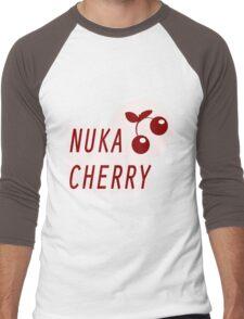 Nuka Cola Cherry Label Men's Baseball ¾ T-Shirt